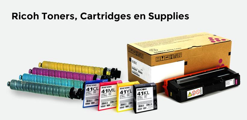 Ricoh Toners, Cartridges en Supplies